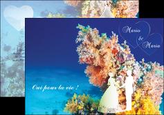 creation graphique en ligne depliant 2 volets  4 pages  ocean paysage nature MLGI34416