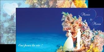 creer modele en ligne depliant 2 volets  4 pages  ocean paysage nature MLGI34418