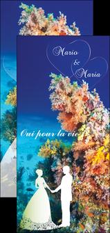 maquette en ligne a personnaliser flyers ocean paysage nature MLGI34422