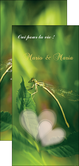 modele flyers faire part de mariage carte de mariage invitation mariage MLGI34452