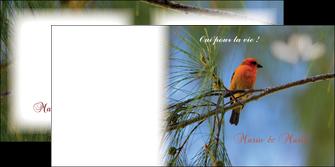 imprimer depliant 2 volets  4 pages  mariage faire part de mariage invitation mariage MLGI34492