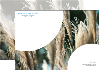 faire modele a imprimer affiche paysage fleurs champs nature MLGI34638