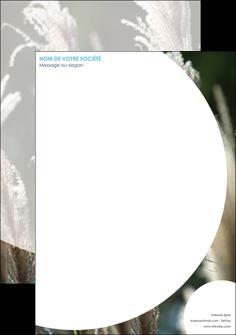 creer modele en ligne tete de lettre paysage fleurs champs nature MLGI34640