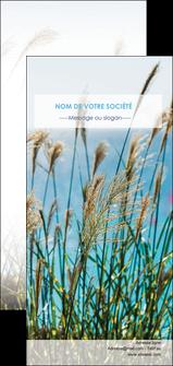 imprimer flyers paysage nature champs fleurs MLGI34680