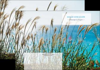 realiser pochette a rabat paysage nature champs fleurs MLGI34692