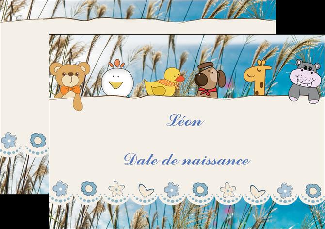 realiser flyers faire part de naissance carte de naissance carton invitation naissance MLGI34820