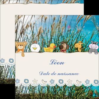 realiser flyers faire part de naissance carte de naissance carton invitation naissance MIF34824