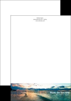exemple tete de lettre sejours mer nature ciel MID34862