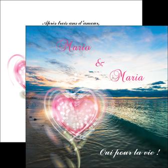 imprimerie flyers faire part de mariage invitation mariage noces MLGI34870