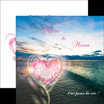 personnaliser modele de flyers faire part de mariage invitation mariage noces MLGI34872