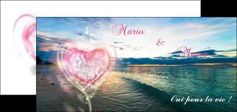 modele flyers faire part de mariage invitation mariage noces MLGI34874