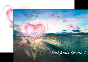 creation graphique en ligne flyers faire part de mariage invitation mariage noces MLGI34878