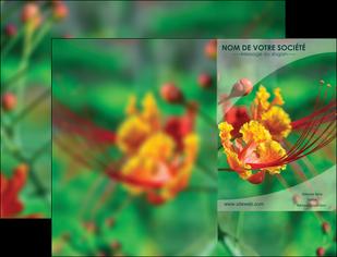 impression pochette a rabat fleuriste et jardinage nature colore couleurs MLGI34936