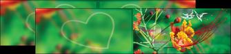 modele depliant 2 volets  4 pages  nature colore couleur MLGI34938