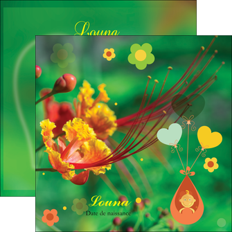 imprimerie flyers fleur naissance nature MLIG34952
