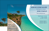 realiser carte de visite sejours mer plage bord de mer MLIP35030