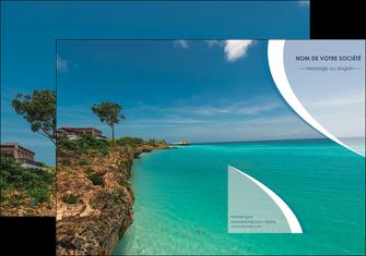 maquette en ligne a personnaliser pochette a rabat sejours mer plage bord de mer MLGI35056