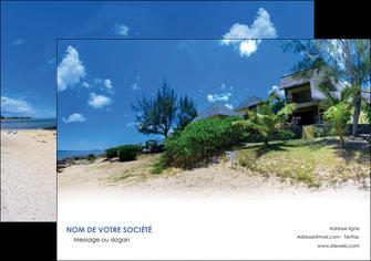 modele affiche sejours agence immobilier ile maurice villa MIS35196