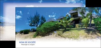 imprimerie flyers sejours agence immobilier ile maurice villa MIS35200