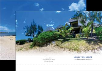 modele pochette a rabat sejours agence immobilier ile maurice villa MIS35206
