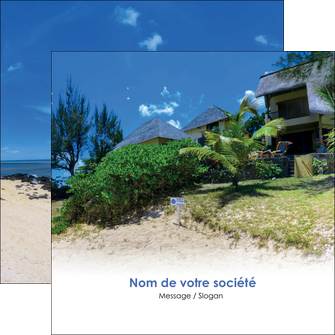 modele flyers sejours agence immobilier ile maurice villa MIS35216