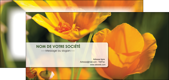 maquette en ligne a personnaliser flyers fleuriste et jardinage fleurs nature printemps MLGI35960