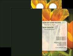 realiser carte de visite fleuriste et jardinage fleurs nature printemps MLGI35974