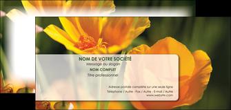 faire modele a imprimer carte de correspondance fleuriste et jardinage fleurs nature printemps MLGI35988