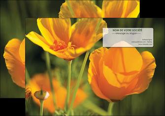 faire modele a imprimer pochette a rabat fleuriste et jardinage fleurs nature printemps MLGI35990