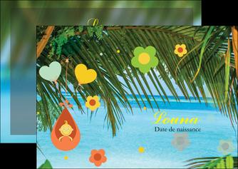 exemple flyers mer plage ciel bleu MLGI36044