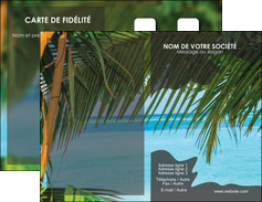 realiser carte de visite mer plage nature MLGI36064