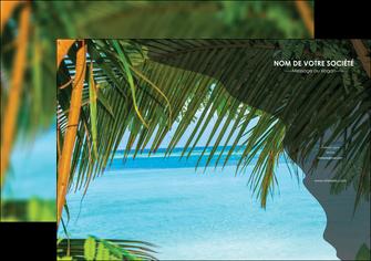 imprimer affiche mer plage nature MLGI36066