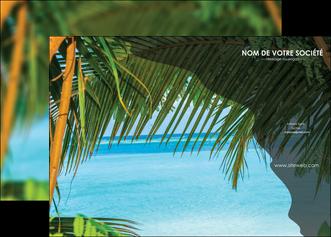 modele en ligne affiche mer plage nature MLGI36076