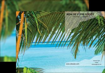 creation graphique en ligne pochette a rabat mer plage nature MLGI36092