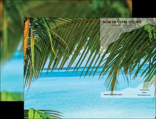 personnaliser maquette pochette a rabat mer plage nature MLGI36094