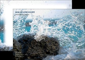 creer modele en ligne affiche mer rocher nature MLIG36214
