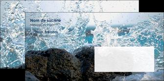 imprimer enveloppe mer rocher nature MLIG36216