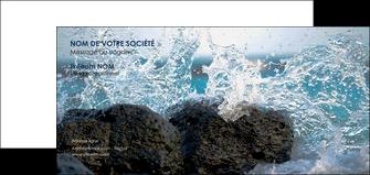 modele en ligne carte de correspondance mer rocher nature MLIG36222