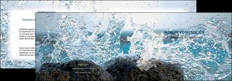 modele depliant 2 volets  4 pages  mer rocher nature MLIG36228