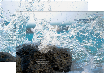 faire pochette a rabat mer rocher nature MLIG36230