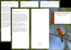 modele depliant 3 volets  6 pages  parc oiseaux colore MLGI36318