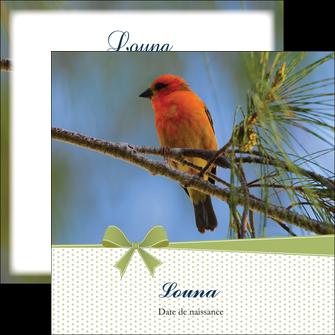 exemple flyers oiseau nature arbre MIF36350