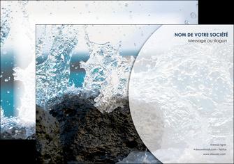 exemple affiche eau flot mer MLGI36398