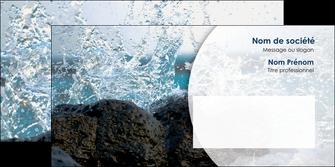 maquette en ligne a personnaliser enveloppe eau flot mer MLGI36400