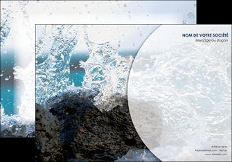 faire affiche eau flot mer MLGI36402