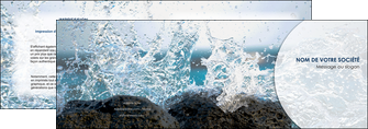 maquette en ligne a personnaliser depliant 2 volets  4 pages  eau flot mer MLGI36412