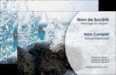creation graphique en ligne carte de visite eau flot mer MLGI36418