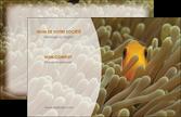 modele en ligne carte de visite animal nemo macro original MLIP36426