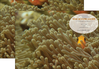 personnaliser modele de pochette a rabat animal nemo macro original MLGI36430