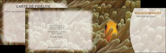 modele en ligne carte de visite animal nemo macro original MLGI36444